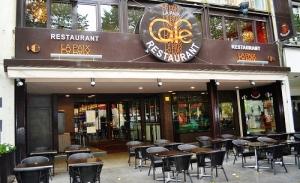 Vitrine de Café La Paix