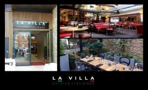 Vitrine de La Villa