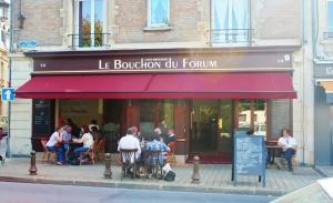 Vitrine de Le Bouchon du Forum