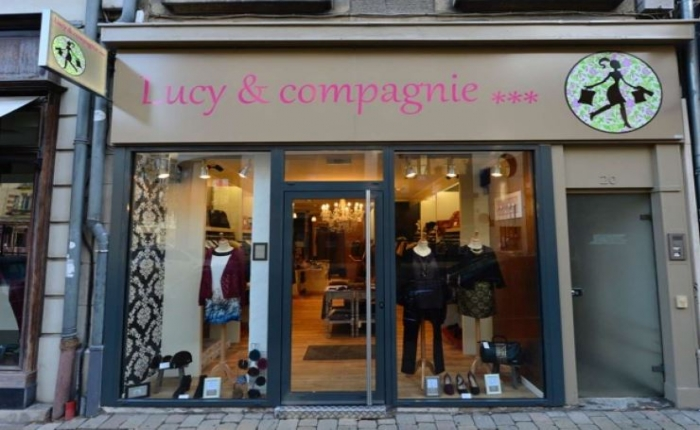 Vitrine de Lucy & Compagnie