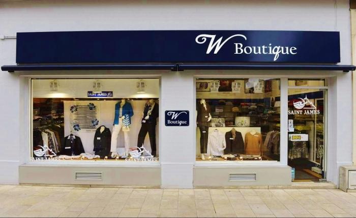 Vitrine de W Boutique