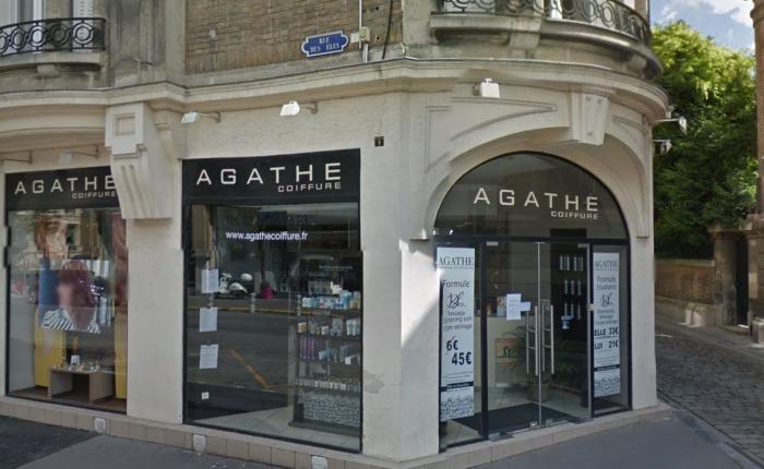 Vitrine de Agathe Coiffure